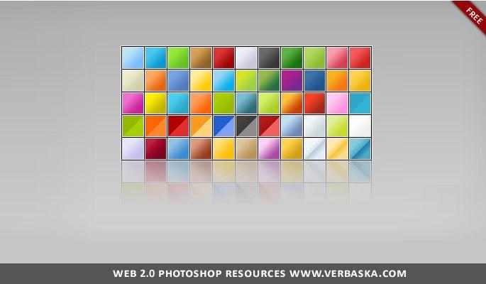 Photoshop Gradient Web 2.0 Free Download