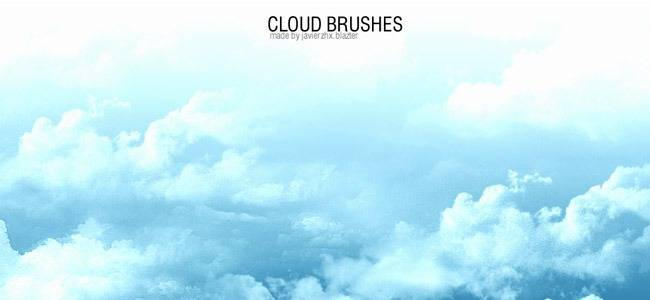 40+ beautiful Photoshop Cloud Brushes – mameara