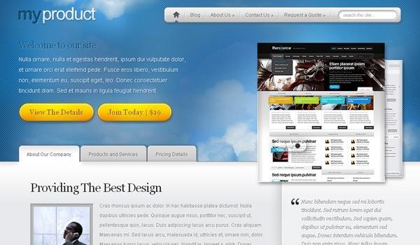15 of The Best Product Showcase WordPress Themes - mameara