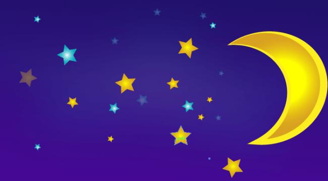 Moon and Stars Vector Tutorial using Illustrator – mameara