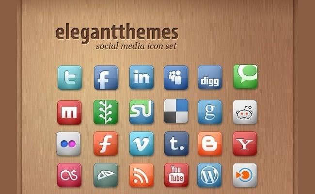 SocialMediaIcon1 18 Free Social Media Icon Packs