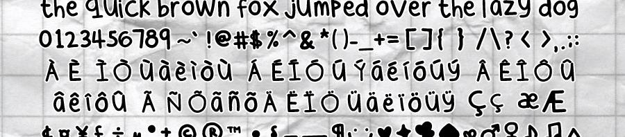 cee  s hand by sunshowerdroplets d37enfo 900x198 - Free Handwritten Fonts