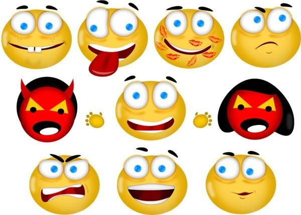 Free High Quality Emoticons Iconset – mameara
