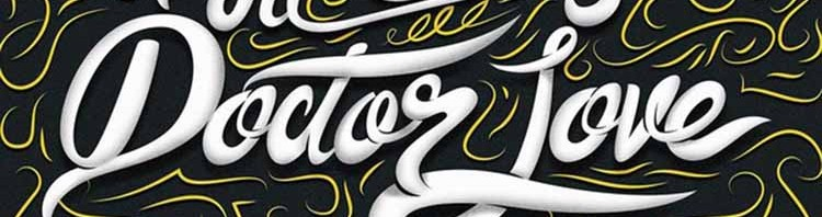 le bal masque 750x198 - Creative Typography from Alan Guzman