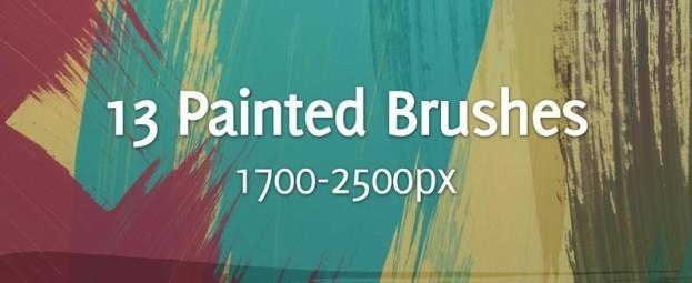 30+ Sets of Free Photoshop Paint Brushes