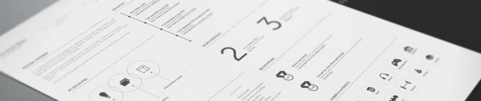 resume design fernando baez 940x198 - Resumes – CV's – Self Branding's That Get You Hired