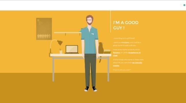 creative interactive resume designs - Interactive Resume